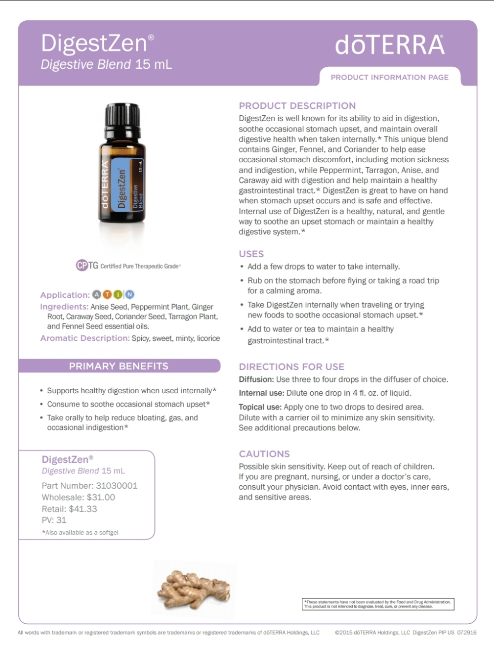 DigestZen Product Profile