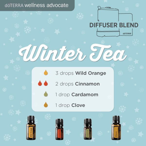 Winter Tea Diffuser Blend