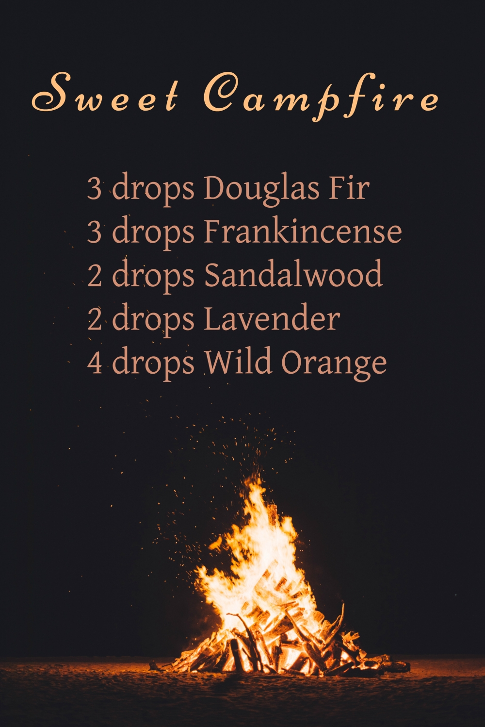 Honey, breathe. Sweet Campfire Diffuser Blend