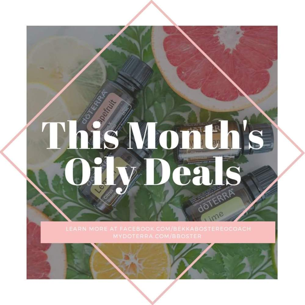 doTERRA essential oil promotions for this month | Bekka Booster | Honey Breathe